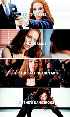 she's the salt of the earth. #marvel