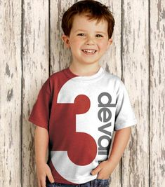 Birthday Number Shirt Personalized Boy or by SimplySublimeBaby, $24.95