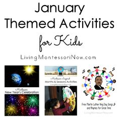 January Crucial breaks days and regular observances for homeschoolers