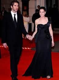 Amanda Peet and David Benioff - married 06