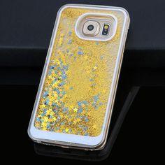 Dynamic Liquid Glitter Sand Quicksand Star Case For Samsung Galaxy S6 S7