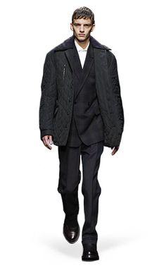 Ermenegildo Zegna Couture: Fall Winter 2014-15 Fashion Show by Stefano Pilati – Look 8