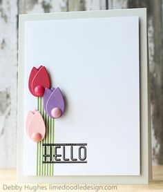 Hello by limedoodle - Cards and Paper Crafts at Splitcoaststampers