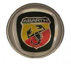 Fregio anteriore Abarth 95mm FIAT GRANDEPUNTO