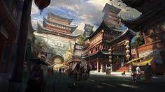 fantasy japanese architecture - Pesquisa Google