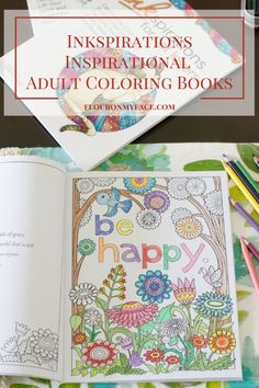 Enter the world of adult coloring with the beautiful Inkspirations Adult Coloring Books and Greeting Cards. Enter to win a prize pack of coloring fun. Adult Coloring Pages, Coloring Books, Positive Inspiration, Doodle Designs, Have Some Fun, Stress Relief, Colored Pencils, Hobbies, Doodles