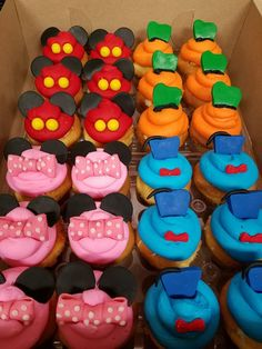 Mickey and Friends Cupcakes