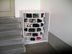 New Shoe Storage Organization Lazy Susan 18 Ideas