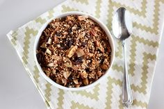 Maple Cinnamon Crunch Quinoa Granola - Gluten-free + Vegan