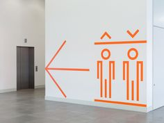 Here East London signage and wayfinding by dn&co