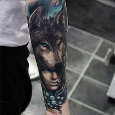 tattoo de lobo