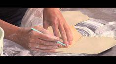 Pottery Video: Using Plastic to Make Handbuilding Easier | LORNA MEADEN