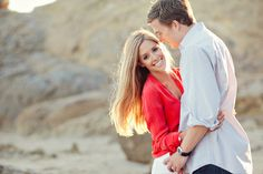 newport beach engagement photos by heather kincaid