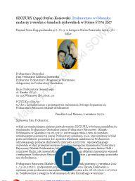 ...Kaczyńscy, Michnik i Borusewicz z KOR-u byli współtwórcami fałszywej legendy Hanny Walentynowicz z Gdańska jako tzw. Matki Polki, Matki Solidarności. Lech Kaczyński zabrał w końcu tę nieszczęsną kobietę ze sobą do grobu włączając ją do grupy statystów zabranych do Katynia na plan realizacji filmu propagandowego, który miał otworzyć jego prywatną kampanię  http://przecieki.blox.pl/2015/12/Kaczynscy-Michnik-i-Borusewicz-autorami-klamstwa.html Kaczynscyklamstwa o Hannie Walentynowicz FO65