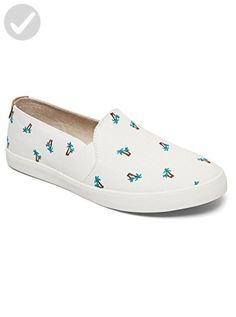 Roxy Women's Atlanta Slip on Shoe Fashion Sneaker, Multi, 6 M US - All about women (*Amazon Partner-Link)