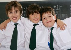 Neckties for School Uniforms:  School Uniforms are most common in the Commonwealth. Almost every school in Great Britain and Australia use school uniforms. Neckties are almost always present as well.