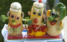 Vegetable Animal Art | JunkFun-Fun With Difference Vegetable Creative Manipulations part 3 ...