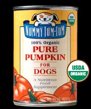 pumpkin for dogs - aids in digestive problems in dogs/puppies