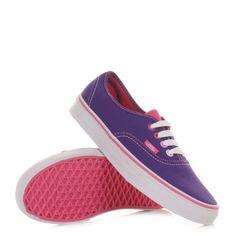 Vans Authentic Shoes - Multi Pop Heliotrope/ Pink. £47