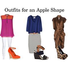 Outfits for an apple shape by missydamon on Polyvore featuring Lanvin, Sophie Theallet, 3.1 Phillip Lim, VILA, True Religion, Pierre Hardy, Jessica Simpson and Call it SPRING