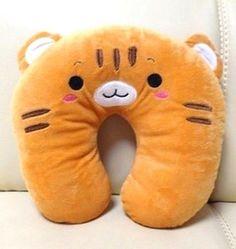 KT266 Fashion Pillow Plush U shape Neck Pillow Car Cushion New 2in1 ~Cool Tiger~