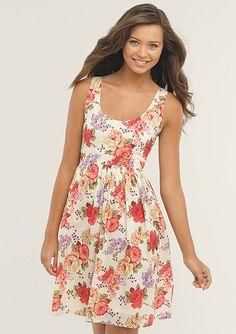 Cute girly floral print  dELiAs > Bella Print Dress > dresses > casual