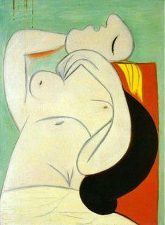 Pablo Picasso, Sleep [Le sommeil], Paris, 23 January 1932