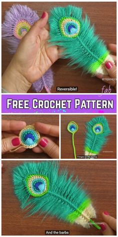 Crochet Amigurumi Patterns Macrame Peacock Feathers Free Crochet Pattern and Video Tutorial - Peacock Feathers Crochet Pattern Free Crochet Pattern Free, Crochet Motifs, Crochet Stitches, Tutorial Crochet, Macrame Tutorial, Amigurumi Tutorial, Crochet Dreamcatcher Pattern Free, Free Crochet Flower Patterns, Diy Crochet Flowers
