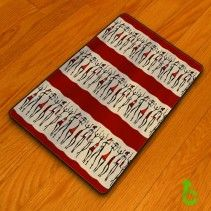 African dancers abstract Blanket