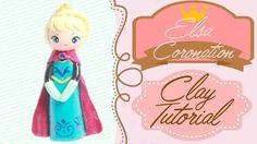 Queen Elsa Coronation Gown Chibi | Polymer Clay Tutorial