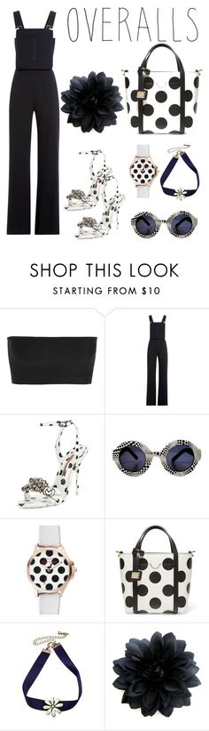 """""""Trending: Overalls"""" by nadinehab ❤ liked on Polyvore featuring Balmain, See by Chloé, Sophia Webster, Louis Vuitton, Juicy Couture and Dolce&Gabbana"""