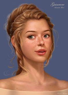She looks like a cross between Belle (Beauty and the Beast) and Jane (Tarzan)