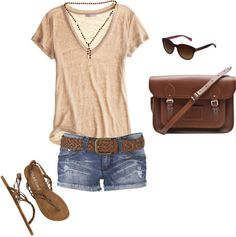 hot day, created by sherdan on Polyvore