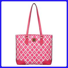 Dooney & Bourke Sanibel Richmond Shopper in Hot Pink - Shoulder bags (*Amazon Partner-Link)