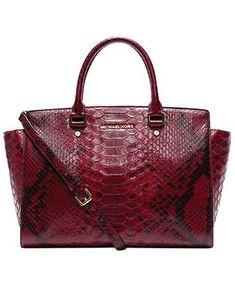 4c4c60702b1f6d Like this more than the other red mk purse MICHAEL Michael Kors Handbag,  Selma Large