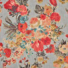 HGTV Garden Odyssey Fog Fabric