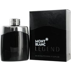 Men's Perfume - Pin it :-) Follow us .. CLICK IMAGE TWICE for our BEST PRICING ... SEE A LARGER SELECTION of men's perfume at http://azgiftideas.com/product-category/mens-perfume/ - gift ideas , valentines , mens - Mont Blanc Legend Eau de Toilette Spray for Men, 3.3 Ounce