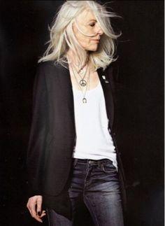 The fashion elder: Anna Von Ruden: actress and model