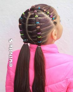 Read more about learn how to braids Easy Toddler Hairstyles, Girls Hairdos, Kids Curly Hairstyles, Cute Little Girl Hairstyles, Baby Girl Hairstyles, Princess Hairstyles, Baddie Hairstyles, Medium Hairstyles, Wedding Hairstyles