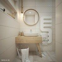 MALÉ KÚPEĽNE - Riešenia & Dizajn / BENEVA Vanity, Mirror, Bathroom, Design, Furniture, Home Decor, Projects, Powder Room, Dressing Tables