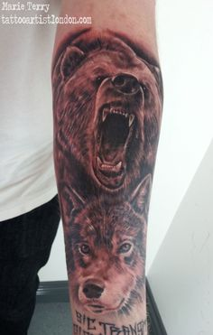 mike devries grizzly bear ink ideas pinterest bears tattoo and bear tattoos. Black Bedroom Furniture Sets. Home Design Ideas