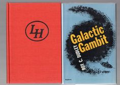 1971 1st in Dust Jacket of Galactic Gambit by Dudley  Vintage Science Fiction
