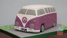Campervan Wedding Cake by www.jellycake.co.uk, via Flickr