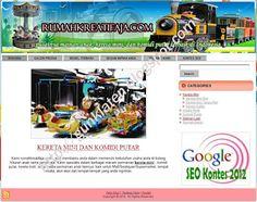 Rumahkreatifaja.Com, Produsen Kereta Mini, Kereta Mall, dan Komidi Putar Terbaik di Indonesia | Mas GunKlaten Berbagi