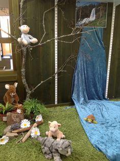 Pedagogiska miljöer - Små barns lärande Science Area Preschool, Role Play Areas, Small World Play, Classroom Environment, Reggio Emilia, Beautiful Space, Montessori, Ladder Decor, Kindergarten
