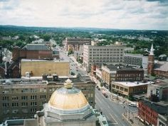 Utica, NY   Gold Dome Bank!