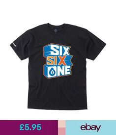 Boys' Clothing (2-16 Years) Kids 661 3D Tee Black Youth Mtb Motocross Mx Ride Bmx Bike T-Shirt Sixsixone #ebay #Fashion