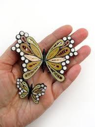 Resultado de imagen de mariposas quilling