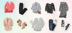 2019 capsule wardrobe: Start with these 10 pieces 10 Piece Wardrobe, Build A Wardrobe, Capsule Wardrobe, Wardrobe Ideas, Buy Jeans, Formal Looks, Buy Dress, Wearing Black, Body Shapes