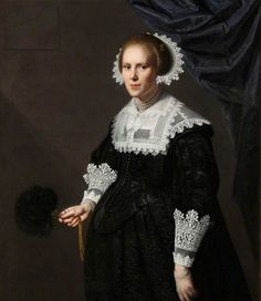 Paulus Moreelse, Portrait of an Unknown Lady, Aged 26